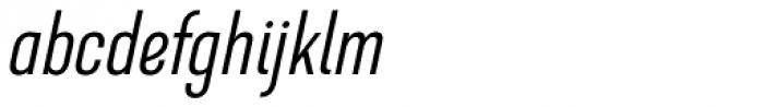 GHEA Dvin Light Italic Font LOWERCASE