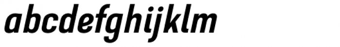 GHEA Dvin Medium Italic Font LOWERCASE