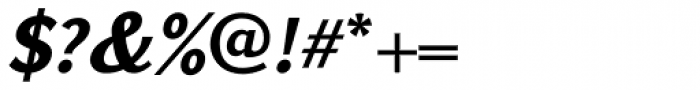GHEA Koryun Bold Italic Font OTHER CHARS