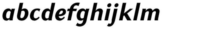 GHEA Koryun Bold Italic Font LOWERCASE