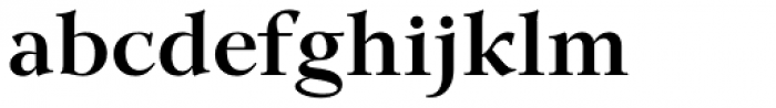 GHEA Lilit Demi Bold Font LOWERCASE