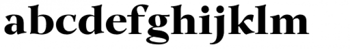 GHEA Lilit ExtraBold Font LOWERCASE