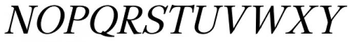 GHEA Lilit Italic Font UPPERCASE