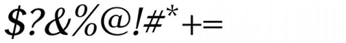 GHEA Narek Medium Italic Font OTHER CHARS