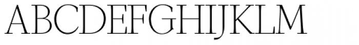GHEA Narek Serif UltraLight Font UPPERCASE