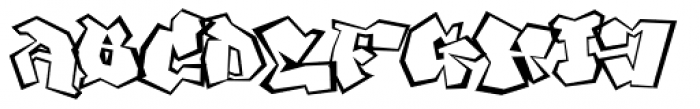 Ghang Font UPPERCASE