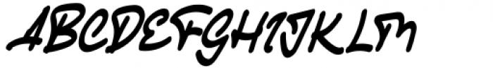 Gheamarker Regular Font UPPERCASE