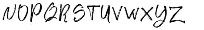 Ghoppters Regular Font UPPERCASE