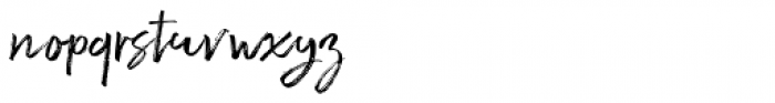Ghoppters Regular Font LOWERCASE