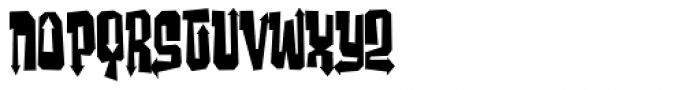 Ghost Boy Style Skinny Font LOWERCASE