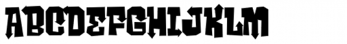 Ghost Boy Style Font UPPERCASE