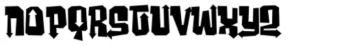 Ghost Boy Style Font LOWERCASE