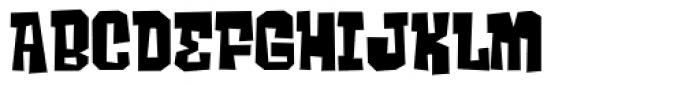 Ghost Boy Font UPPERCASE