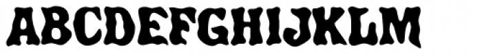 Ghost Show Font UPPERCASE