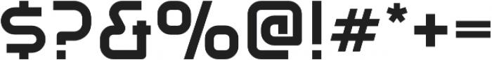 Gia XtraBold otf (700) Font OTHER CHARS