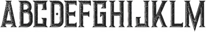 Giant Inline Grunge otf (400) Font UPPERCASE