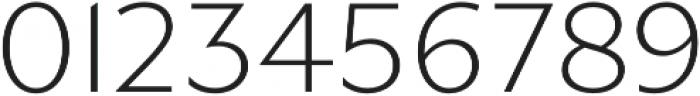 Gibbs Light otf (300) Font OTHER CHARS