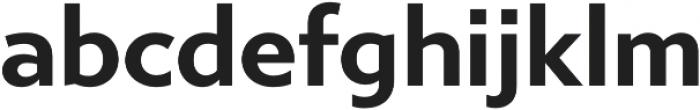Gibbs otf (700) Font LOWERCASE