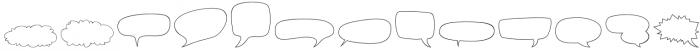 Gibon Balloons Regular otf (400) Font LOWERCASE