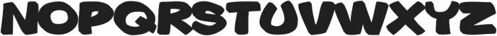 Gibon Bold 3D Bottom Bold otf (700) Font UPPERCASE