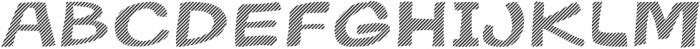 Gibon Bold Fill Striped 2 Bold otf (700) Font UPPERCASE