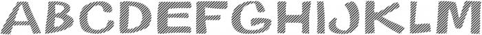 Gibon Bold Fill Striped 2 Bold otf (700) Font LOWERCASE