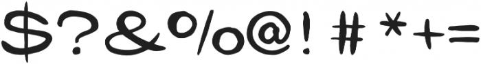 Gibon Lettering Regular otf (400) Font OTHER CHARS