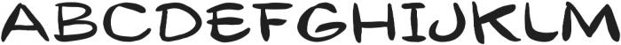Gibon Lettering Regular otf (400) Font UPPERCASE