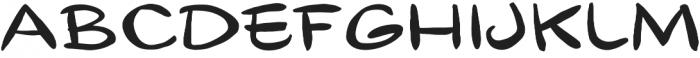 Gibon Lettering Regular otf (400) Font LOWERCASE