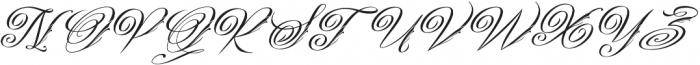 Gibrael otf (400) Font UPPERCASE