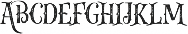 Gibsons Co Rough otf (400) Font UPPERCASE
