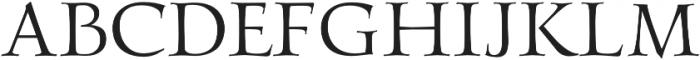 Gideon Professional otf (400) Font UPPERCASE