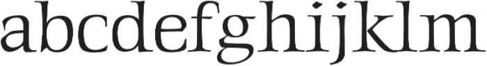 Gideon Professional otf (400) Font LOWERCASE