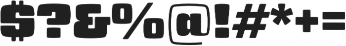 Gigalypse otf (400) Font OTHER CHARS
