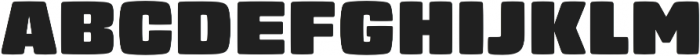 Gigalypse otf (400) Font UPPERCASE