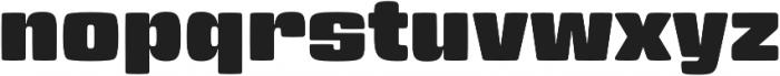 Gigalypse otf (400) Font LOWERCASE