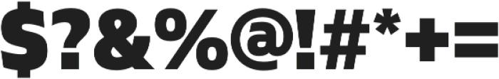 Gilam Black otf (900) Font OTHER CHARS
