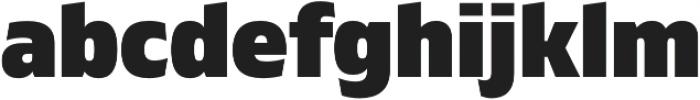 Gilam Black otf (900) Font LOWERCASE