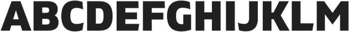 Gilam Heavy otf (800) Font UPPERCASE