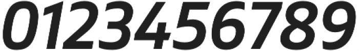 Gilam SemiBold Italic otf (600) Font OTHER CHARS