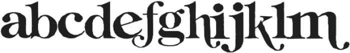 Gilbert ttf (400) Font LOWERCASE