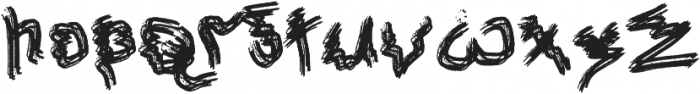 Gillanie otf (400) Font LOWERCASE