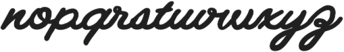 Gilly Bold otf (700) Font LOWERCASE
