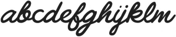 Gilly Medium otf (500) Font LOWERCASE