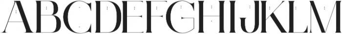 Ginebra ttf (400) Font UPPERCASE