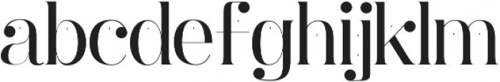 Ginebra ttf (400) Font LOWERCASE