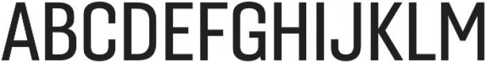 Gineso Cond Medium otf (500) Font UPPERCASE