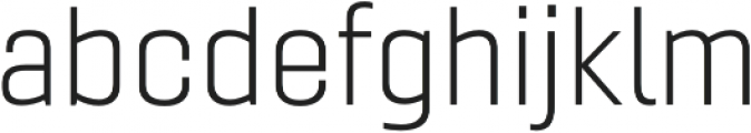 Gineso Ext Light otf (300) Font LOWERCASE
