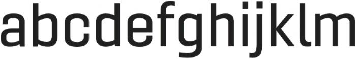 Gineso Ext Medium otf (500) Font LOWERCASE