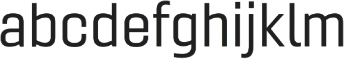 Gineso Ext Regular otf (400) Font LOWERCASE